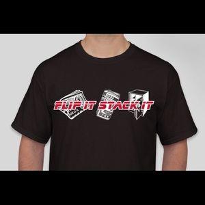 Flip it stack it T shirts!